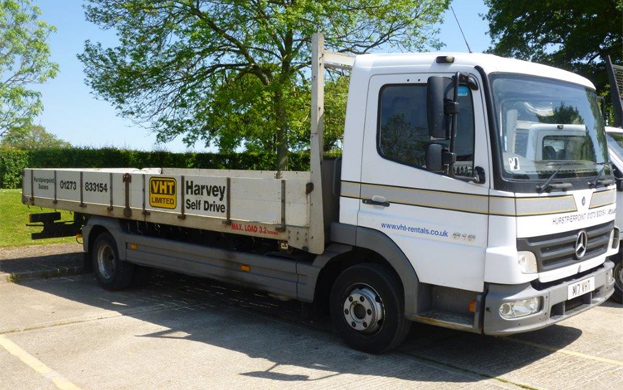 Mercedes Benz Dropside 7.5T | Harvey Self Drive
