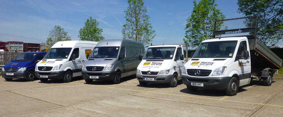 Vans and Trucks